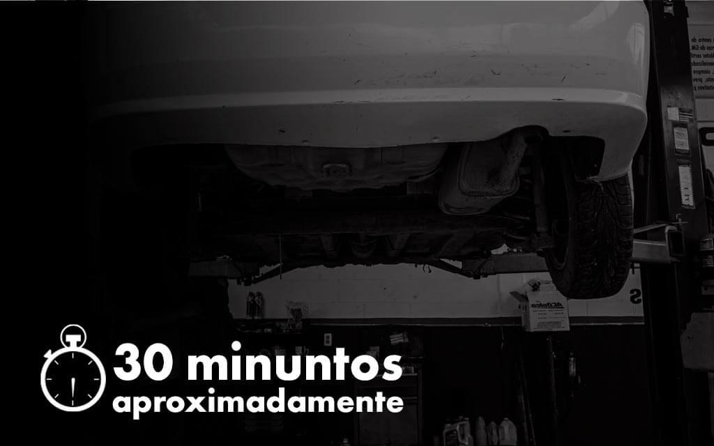 Cuánto dura el procedimiento de balanceo: 30 minutos