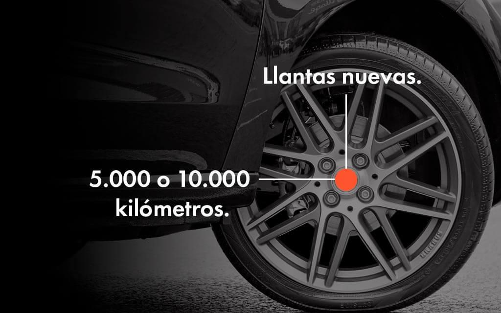 Cuándo hacer el balanceo de tu vehículo: Llantas nuevas y 5.000 o 10.000 kilómetros
