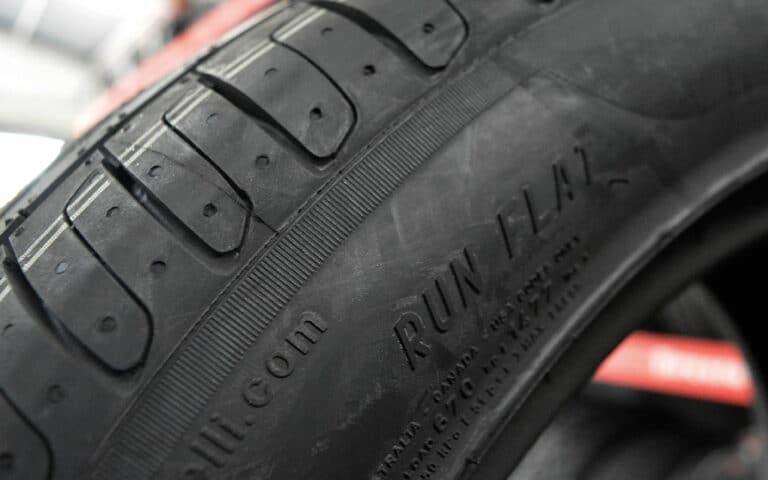 Llanta Pirelli con tecnología Run Flat