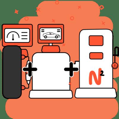 Máquinas de alineación, balanceo y nitrógeno